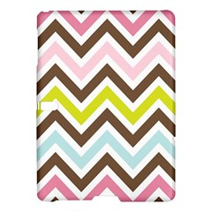 Chevrons Stripes Colors Background Samsung Galaxy Tab S (10 5 ) Hardshell Case  by Amaryn4rt
