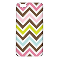 Chevrons Stripes Colors Background Iphone 6 Plus/6s Plus Tpu Case by Amaryn4rt