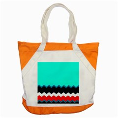 Pattern Digital Painting Lines Art Accent Tote Bag by Amaryn4rt