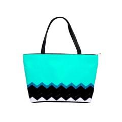 Pattern Digital Painting Lines Art Shoulder Handbags by Amaryn4rt