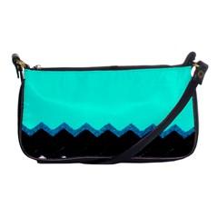 Pattern Digital Painting Lines Art Shoulder Clutch Bags by Amaryn4rt