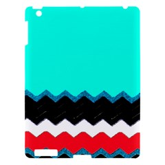 Pattern Digital Painting Lines Art Apple Ipad 3/4 Hardshell Case by Amaryn4rt