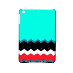 Pattern Digital Painting Lines Art Ipad Mini 2 Hardshell Cases by Amaryn4rt