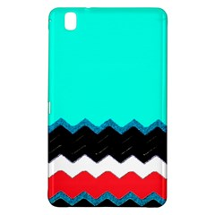 Pattern Digital Painting Lines Art Samsung Galaxy Tab Pro 8 4 Hardshell Case by Amaryn4rt