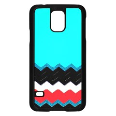 Pattern Digital Painting Lines Art Samsung Galaxy S5 Case (black) by Amaryn4rt