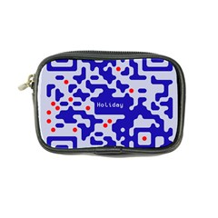 Digital Computer Graphic Qr Code Is Encrypted With The Inscription Coin Purse by Amaryn4rt