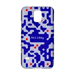Digital Computer Graphic Qr Code Is Encrypted With The Inscription Samsung Galaxy S5 Hardshell Case  by Amaryn4rt