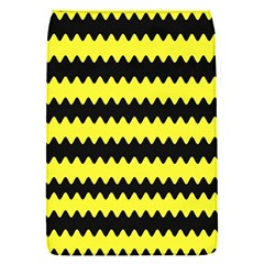 Yellow Black Chevron Wave Flap Covers (s)  by Amaryn4rt