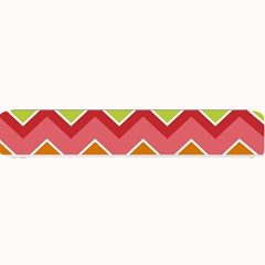 Colorful Background Of Chevrons Zigzag Pattern Small Bar Mats by Amaryn4rt