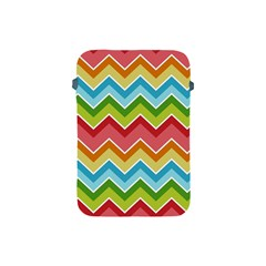 Colorful Background Of Chevrons Zigzag Pattern Apple Ipad Mini Protective Soft Cases by Amaryn4rt