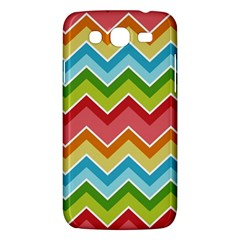 Colorful Background Of Chevrons Zigzag Pattern Samsung Galaxy Mega 5 8 I9152 Hardshell Case  by Amaryn4rt