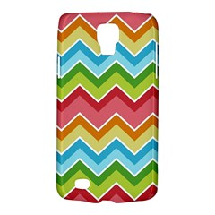 Colorful Background Of Chevrons Zigzag Pattern Galaxy S4 Active by Amaryn4rt