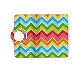 Colorful Background Of Chevrons Zigzag Pattern Kindle Fire Hd (2013) Flip 360 Case by Amaryn4rt