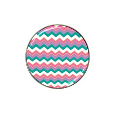 Chevron Pattern Colorful Art Hat Clip Ball Marker (10 Pack) by Amaryn4rt