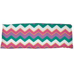Chevron Pattern Colorful Art Body Pillow Case (dakimakura) by Amaryn4rt