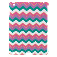Chevron Pattern Colorful Art Apple Ipad 3/4 Hardshell Case (compatible With Smart Cover) by Amaryn4rt