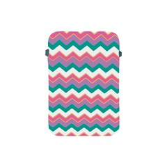 Chevron Pattern Colorful Art Apple Ipad Mini Protective Soft Cases by Amaryn4rt