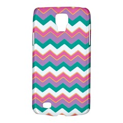 Chevron Pattern Colorful Art Galaxy S4 Active by Amaryn4rt