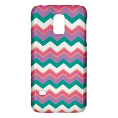 Chevron Pattern Colorful Art Galaxy S5 Mini by Amaryn4rt