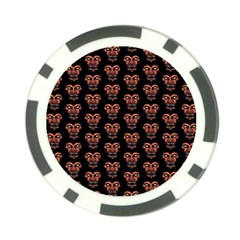 Dark Conversational Pattern Poker Chip Card Guard (10 Pack) by dflcprints