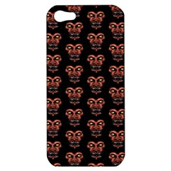 Dark Conversational Pattern Apple Iphone 5 Hardshell Case by dflcprints