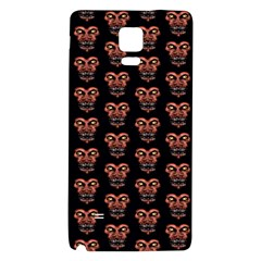 Dark Conversational Pattern Galaxy Note 4 Back Case by dflcprints