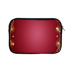 Red Background With A Pattern Apple Ipad Mini Zipper Cases by Amaryn4rt