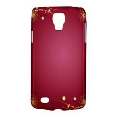 Red Background With A Pattern Galaxy S4 Active by Amaryn4rt