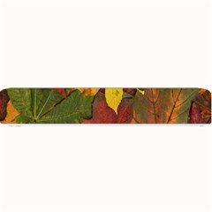 Colorful Autumn Leaves Leaf Background Small Bar Mats by Amaryn4rt