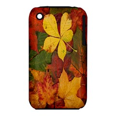 Colorful Autumn Leaves Leaf Background Iphone 3s/3gs by Amaryn4rt
