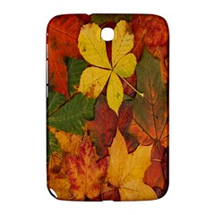 Colorful Autumn Leaves Leaf Background Samsung Galaxy Note 8.0 N5100 Hardshell Case