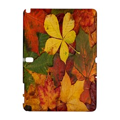 Colorful Autumn Leaves Leaf Background Galaxy Note 1 by Amaryn4rt