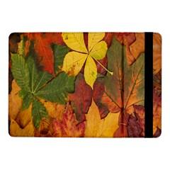 Colorful Autumn Leaves Leaf Background Samsung Galaxy Tab Pro 10 1  Flip Case by Amaryn4rt