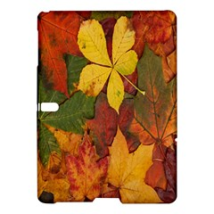 Colorful Autumn Leaves Leaf Background Samsung Galaxy Tab S (10 5 ) Hardshell Case  by Amaryn4rt