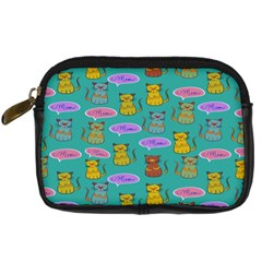 Meow Cat Pattern Digital Camera Cases by Amaryn4rt