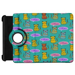 Meow Cat Pattern Kindle Fire Hd 7  by Amaryn4rt