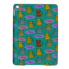 Meow Cat Pattern Ipad Air 2 Hardshell Cases by Amaryn4rt