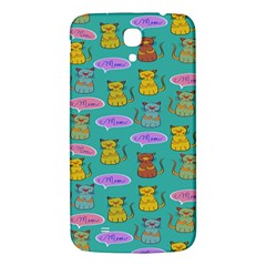 Meow Cat Pattern Samsung Galaxy Mega I9200 Hardshell Back Case by Amaryn4rt
