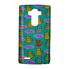 Meow Cat Pattern Lg G4 Hardshell Case by Amaryn4rt