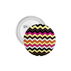 Colorful Chevron Pattern Stripes 1 75  Buttons by Amaryn4rt