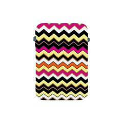 Colorful Chevron Pattern Stripes Apple Ipad Mini Protective Soft Cases by Amaryn4rt