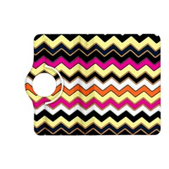 Colorful Chevron Pattern Stripes Kindle Fire Hd (2013) Flip 360 Case by Amaryn4rt