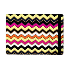Colorful Chevron Pattern Stripes Ipad Mini 2 Flip Cases by Amaryn4rt