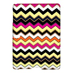 Colorful Chevron Pattern Stripes Samsung Galaxy Tab S (10 5 ) Hardshell Case  by Amaryn4rt
