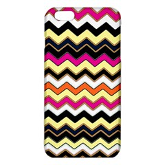 Colorful Chevron Pattern Stripes Iphone 6 Plus/6s Plus Tpu Case by Amaryn4rt