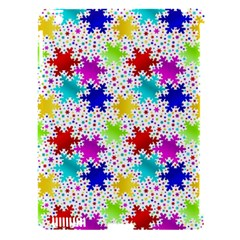 Snowflake Pattern Repeated Apple Ipad 3/4 Hardshell Case (compatible With Smart Cover) by Amaryn4rt