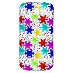 Snowflake Pattern Repeated Samsung Galaxy S3 S Iii Classic Hardshell Back Case by Amaryn4rt