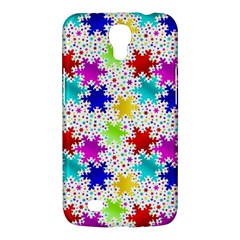 Snowflake Pattern Repeated Samsung Galaxy Mega 6 3  I9200 Hardshell Case by Amaryn4rt
