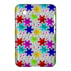 Snowflake Pattern Repeated Samsung Galaxy Tab 2 (7 ) P3100 Hardshell Case  by Amaryn4rt