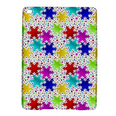 Snowflake Pattern Repeated Ipad Air 2 Hardshell Cases by Amaryn4rt